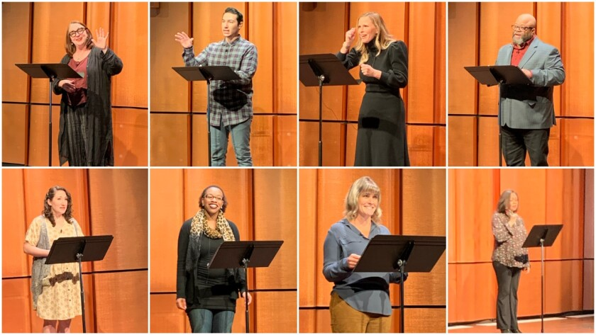 Actors will read the stories judged the top 10 in the San Diego Decameron Project in a virtual ceremony Friday, Feb. 26.