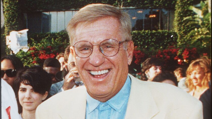 Jerry Van Dyke, seen in 1996, died on Friday at his ranch in Arkansas, his wife said.
