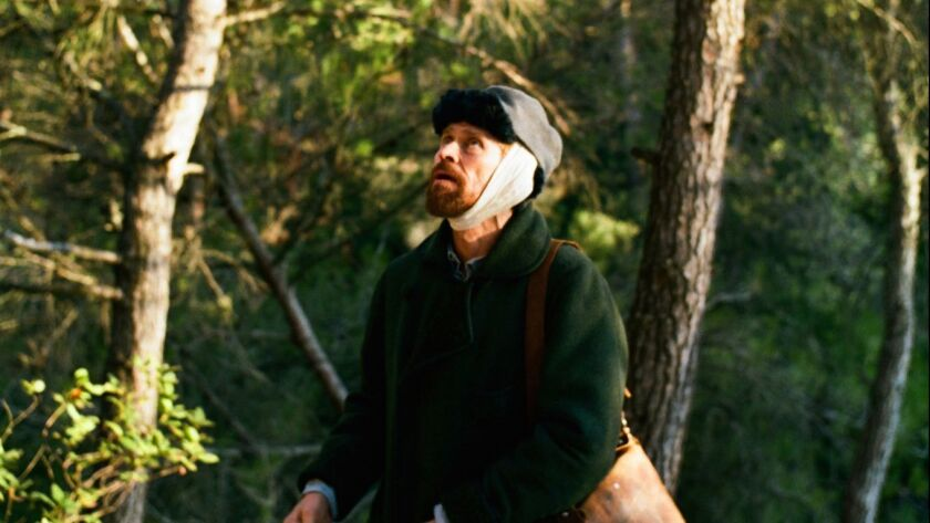 ********2018 HOLIDAY SNEAKS***DO NOT USE PRIOR TO SUNDAY NOV. 4, 2018******Willem Dafoe as Vincent V