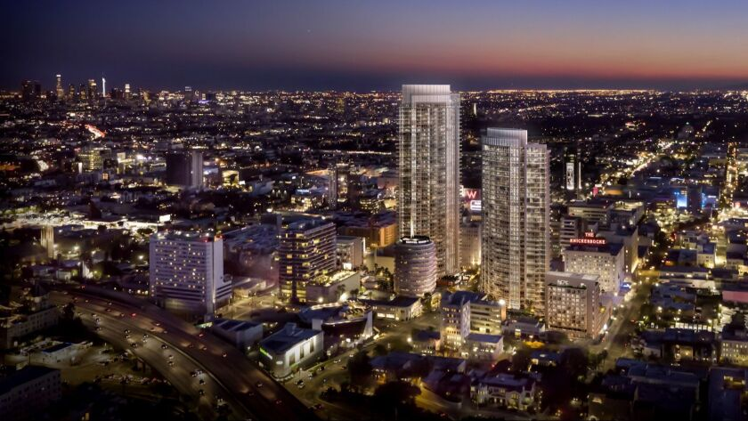 Developer Millennium Partners has proposed a $1 billion residential and retail complex near the Towe