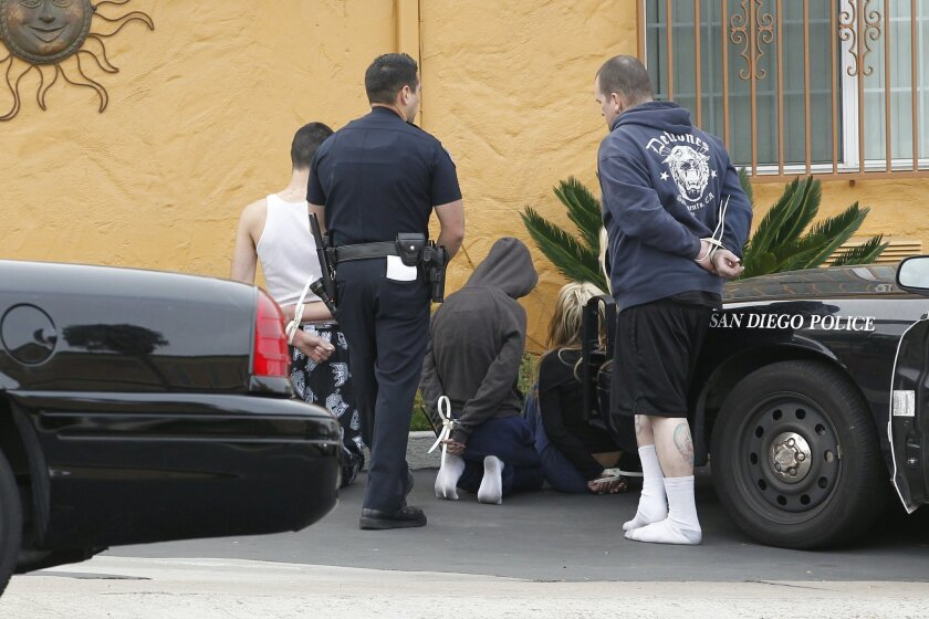 San Diego gang members arrested.