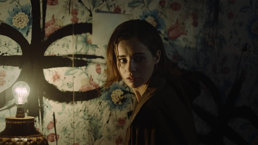 "Holly Earl in ""Erica,"" a PlayStation 4 game with some nifty interactions."