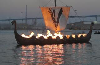 "The History Channel show ""Vikings"" honor fallen characters who have recently risen to Valhalla."