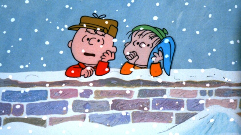 "The animated classic ""A Charlie Brown Christmas"" is among the favorites of celebrities we polled."