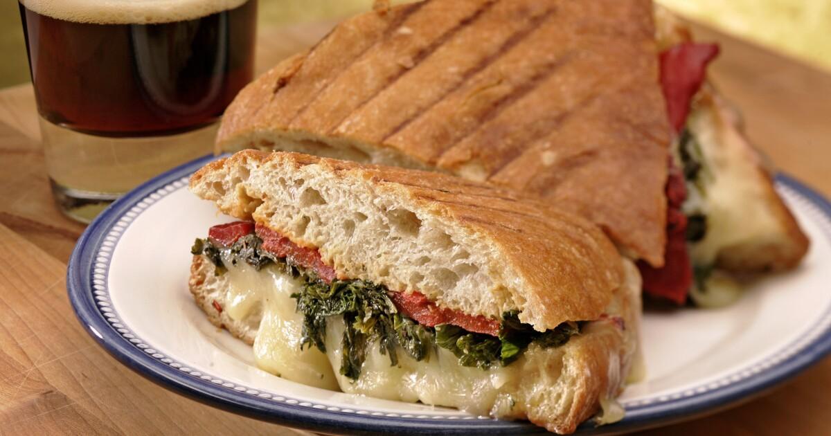Press it: Favorite panini recipes