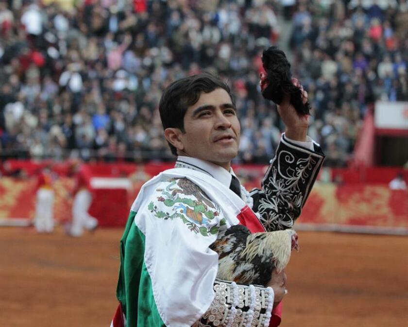 En la imagen, el torero mexicano Joselito Adame. EFE/Archivo