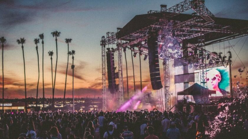 CRSSD Festival debuted at San Diego's Waterfront Park in 2015.