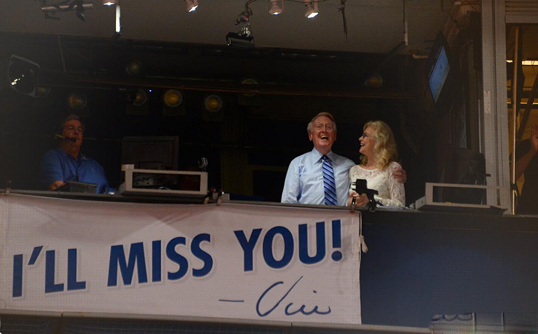 El adiós de Vin Scully
