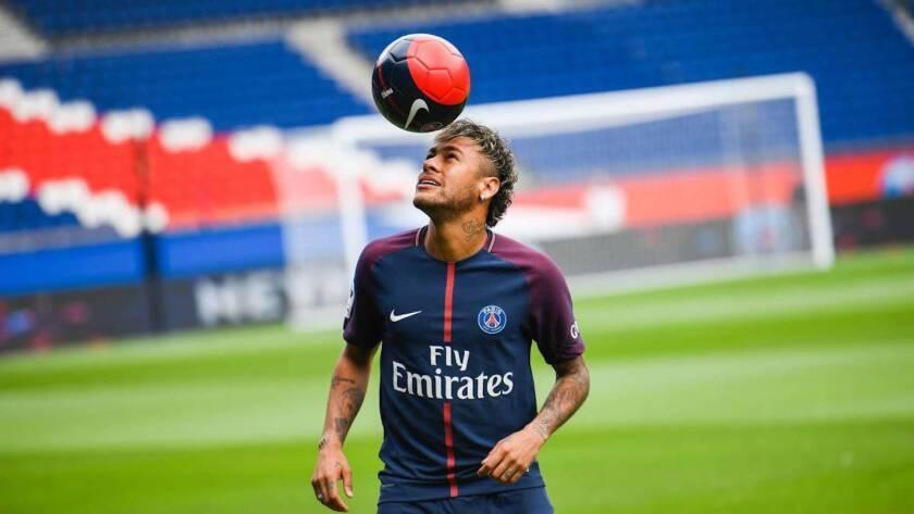 Neymar, atacante estelar del Paris SG.