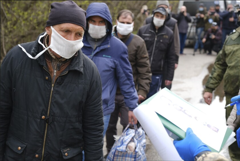 Ukraine Prisoner Exchange