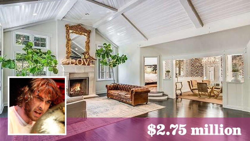 Australian drummer Chris Cester has sold his English Country-style home in Hollywood Hills West to former UFC fighter Kenny Florian and his wife, model-actress Clark Gilmer, for $2.75 million.