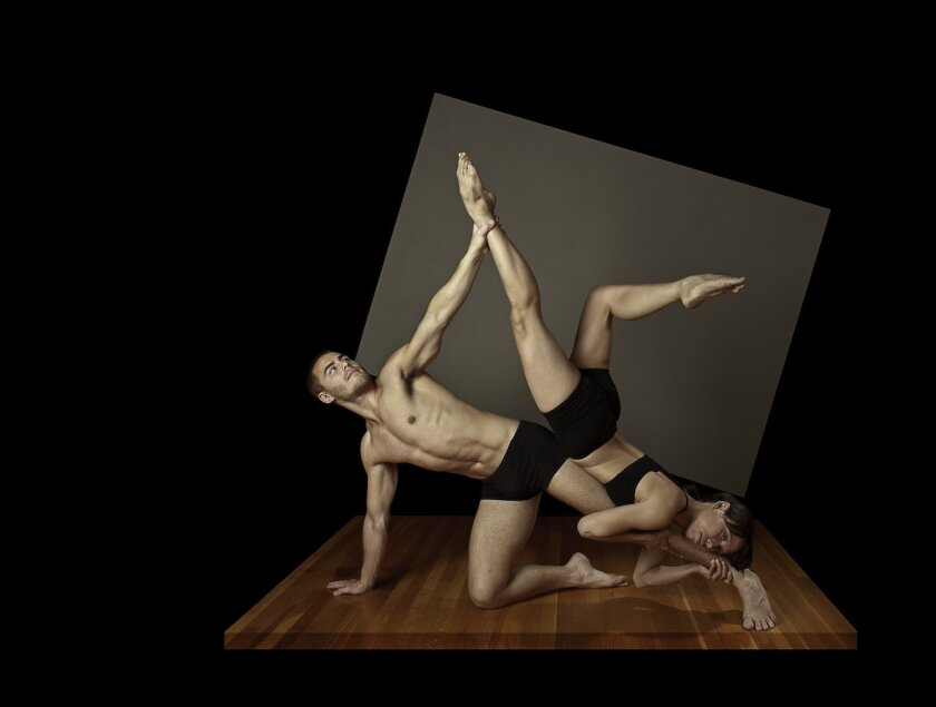 Nicholas Strasburg and Christine Marshall are featured in RAW2. Photo by Raymond Elstad.