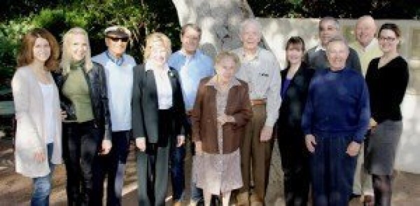 RSF Senior Center Board of Directors and staff (left to right): Carla DiMare (President), Patty Akin, Monty Silverstone, Colleen Sansone (Vice President), Chuck Arledge (Treasurer), Margaret Carl, Chuck Waidelich, Terrie Litwin (Executive Director), Ed Evans, George Bullette, Bill Groeniger, Cheryl