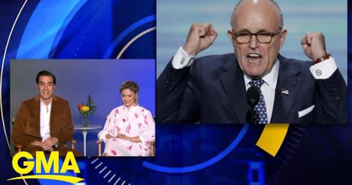 Sacha Baron Cohen: 'It was pretty clear to us' what Rudy Giuliani did in new 'Borat'