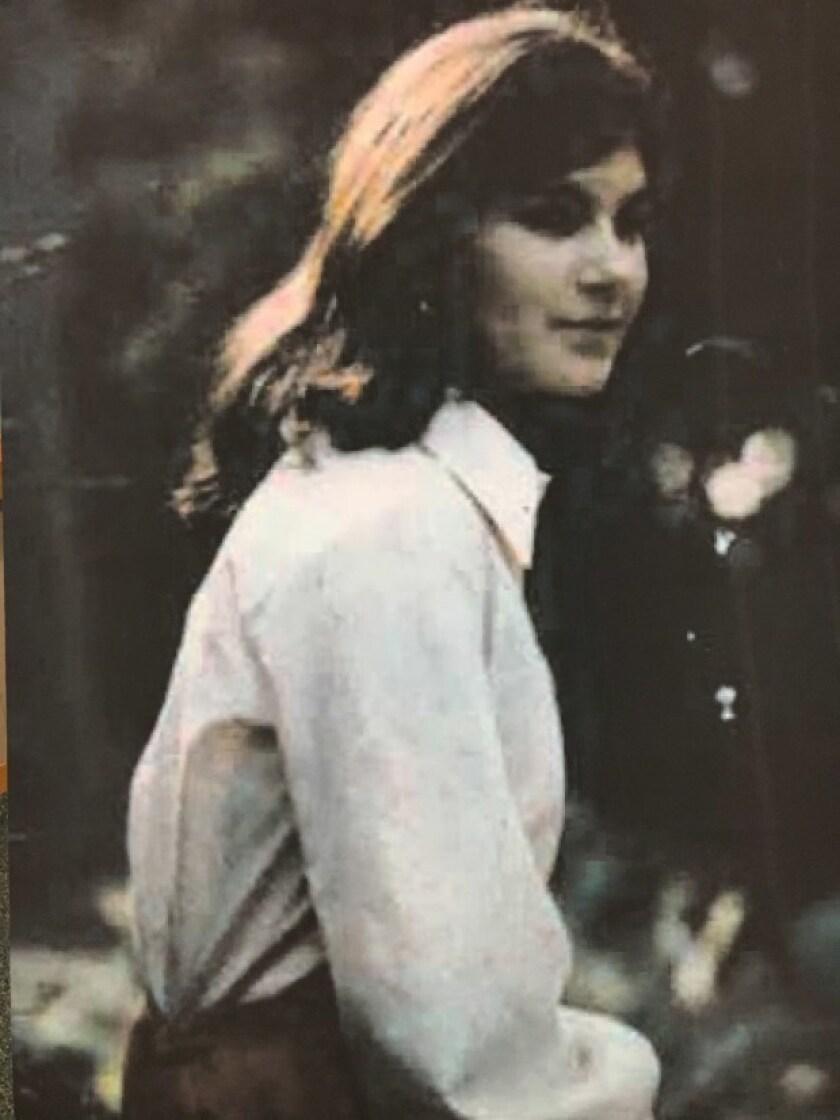 Leslie Marie Perlov, 21, is shown in an undated photo. Perlov's strangled body was found Feb. 16, 19