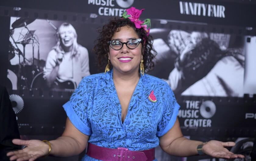 "Marisol ""La Marisoul"" Hernández llega al evento ""JONI 75: A Birthday Celebration"" en Los Angeles"