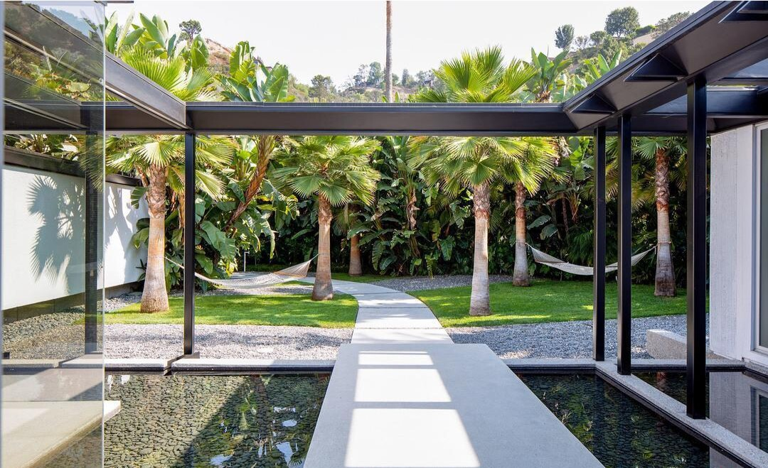 Hedi Slimane's Beverly Hills home