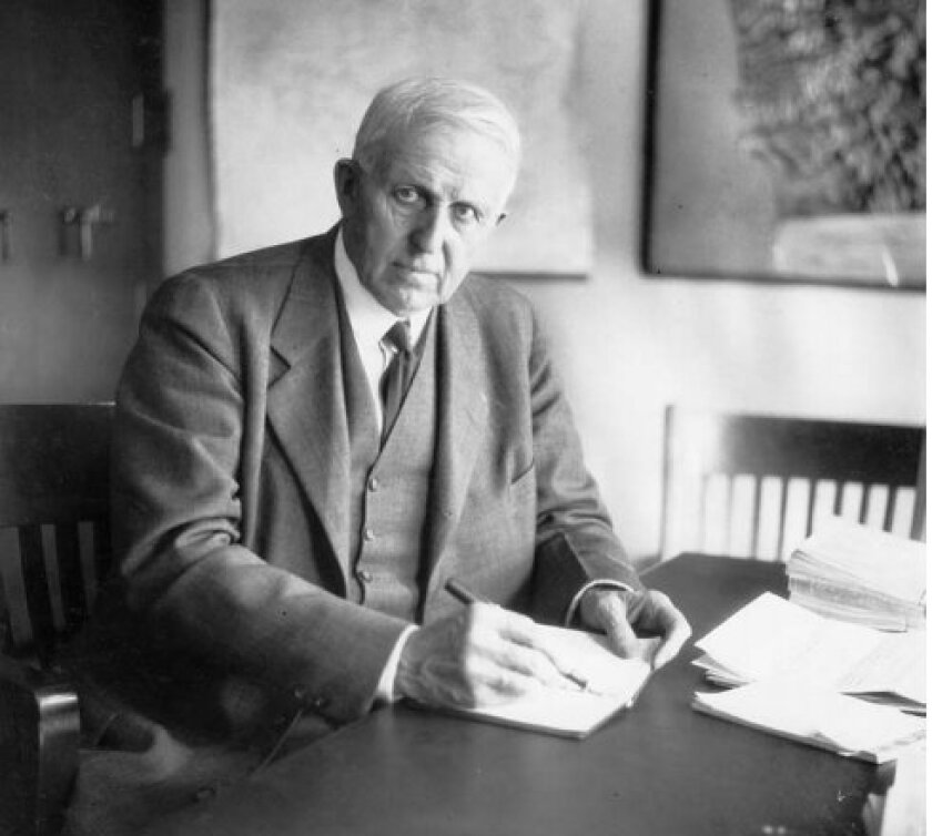 Hiram Newton Savage, the engineer Ellen Browning Scripps hired to design the seawall at Children's Pool in the early 1920s, had to be fetched from Paris when Scripps renewed her interest in the project again in 1930.