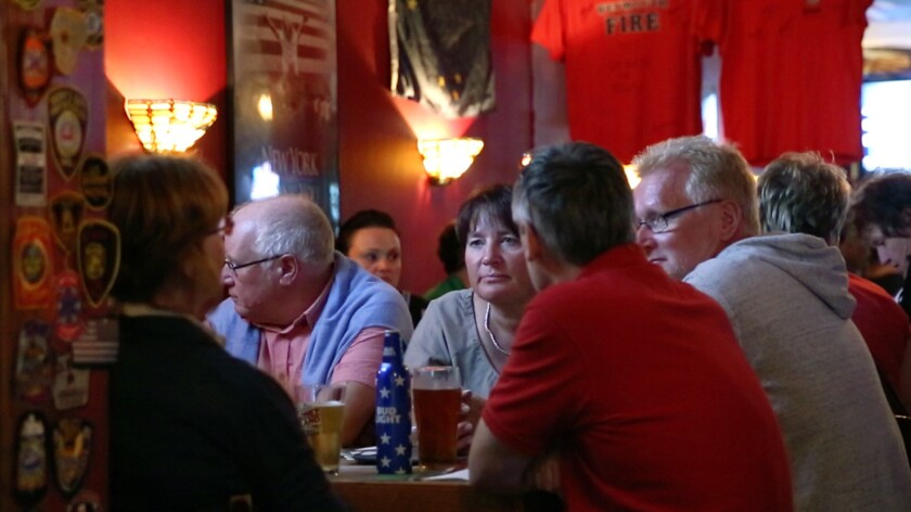 O'Hara's Restaurant and Pub became famous after the events of Sept. 11, 2001, as a gathering spot for emergency personnel from around the world.