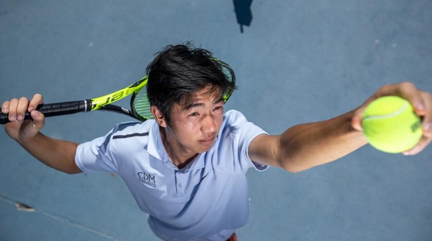 Corona del Mar High junior Kyle Pham is the Daily Pilot Boys' Tennis Dream Team Player of the Year.