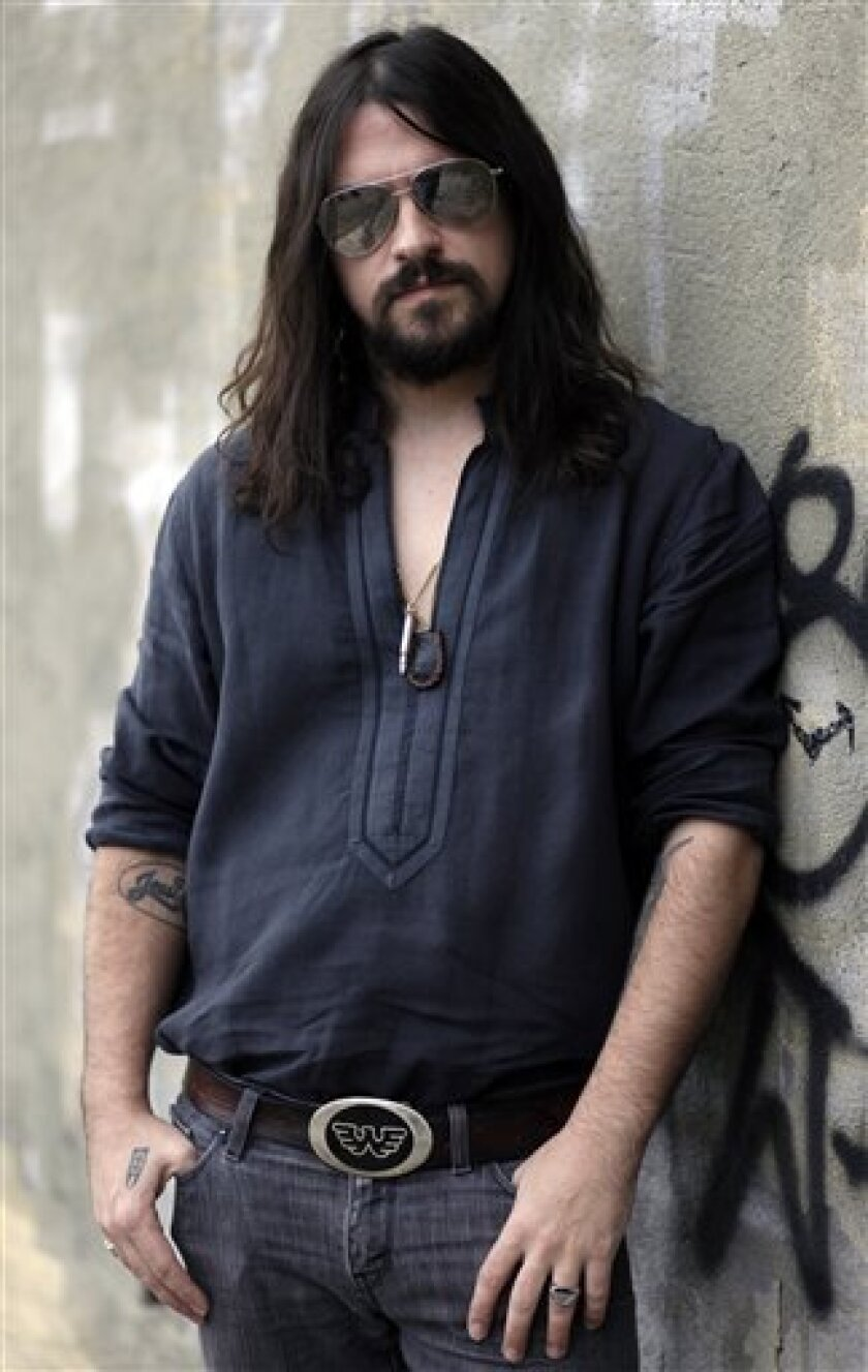 In this Dec. 17, 2009 file photo, musician Shooter Jennings poses for a portrait in Los Angeles. (AP Photo/Matt Sayles, file)