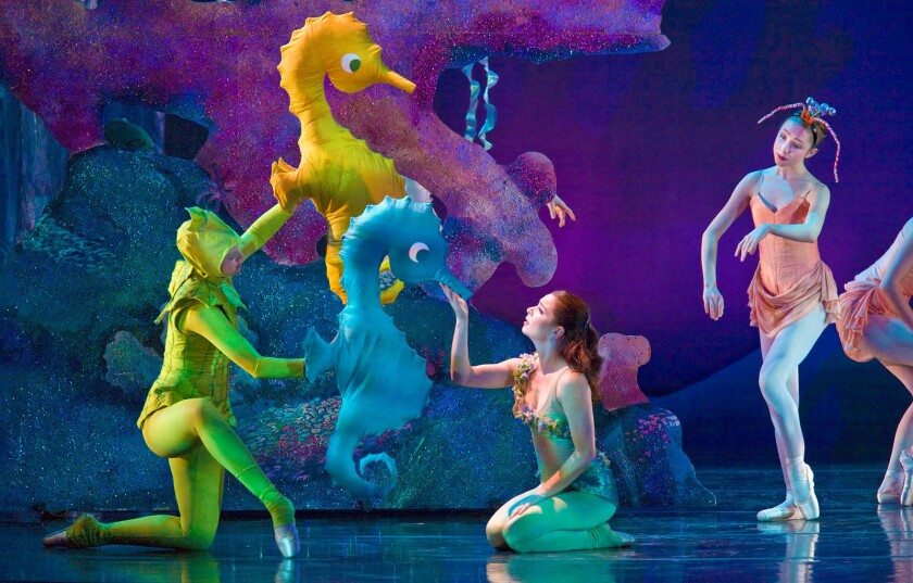 """Inland Pacific Ballet's """"The Little Mermaid"""""""