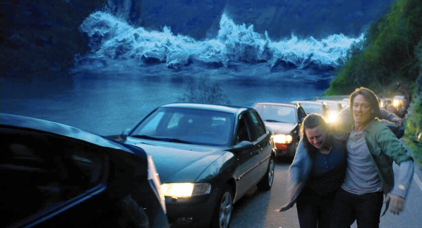 "A scene from ""The Wave."""