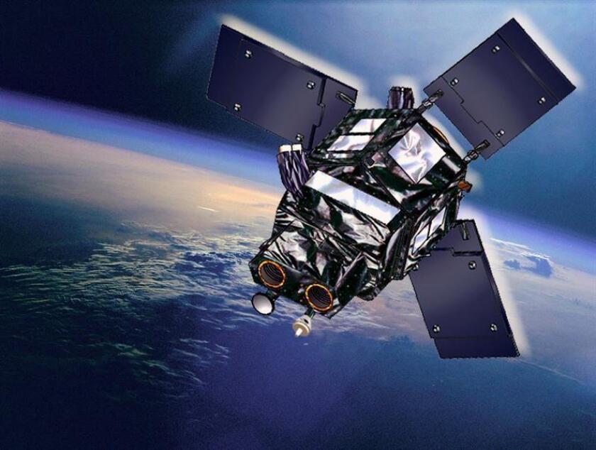 Vista de un satélite en la órbita de la Tierra. EFE/Archivo