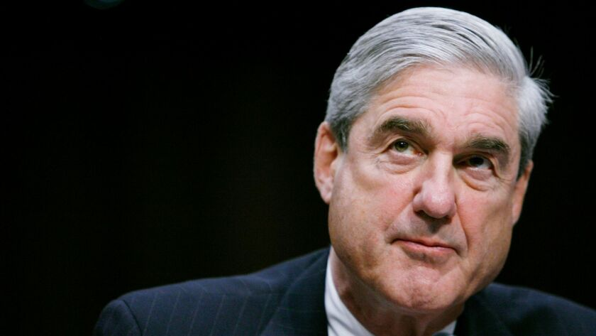 Robert Mueller, shown testifying before the Senate Intelligence Committee in 2011, is investigating Russian interference in the 2016 U.S. presidential election.