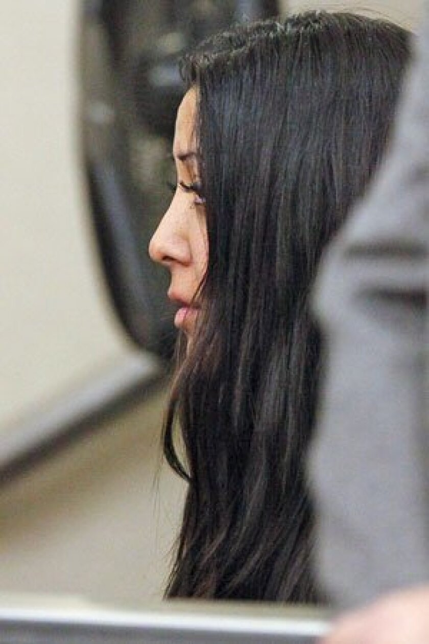 Carmina Lopez faces six counts of committing lewd acts on a child. An evidentiary hearing was set for Feb. 18. (John R. McCutchen / Union-Tribune)