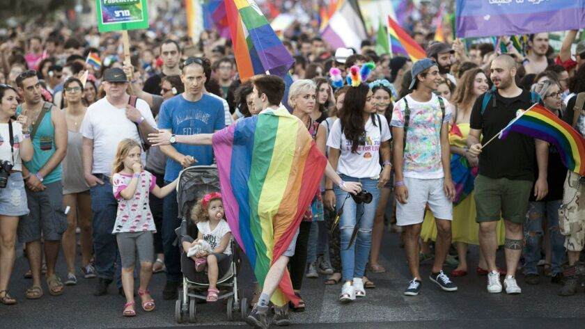 Pride parade in Jerusalem