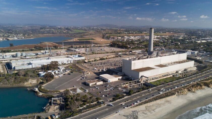 The Encina power plant in Carlsbad, with its 400-foot-tall smokestack, is a local landmark used by mariners and aviators transiting the region.