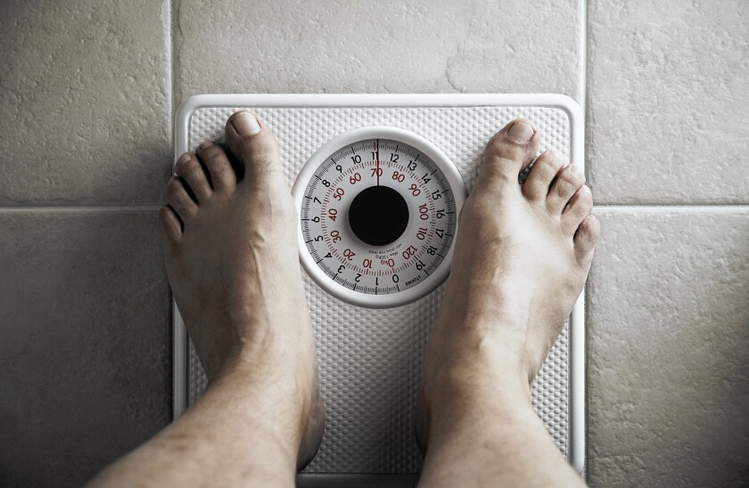 BMI is partly based on weight
