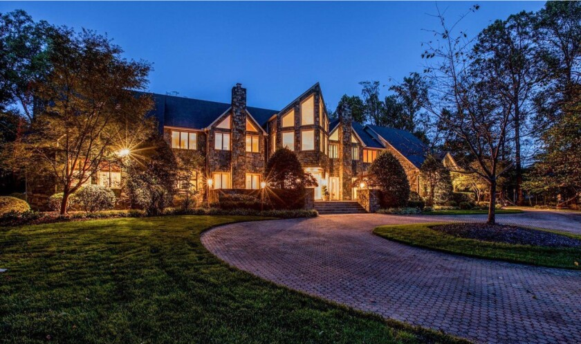 Maryland Mansion Once Owned By Nba Legend Patrick Ewing Is Back In