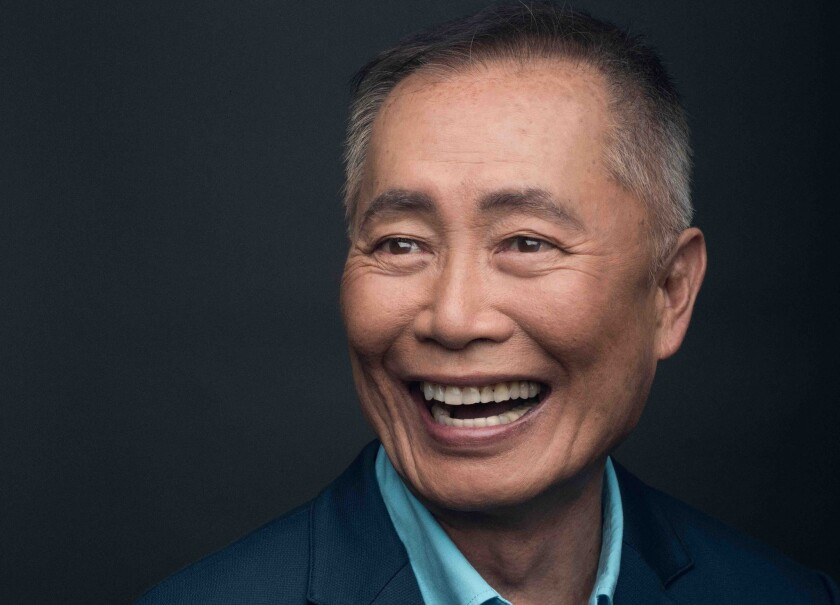 """Actor George Takei is best known for his roles in the """"Star Trek"""" TV show and films."""