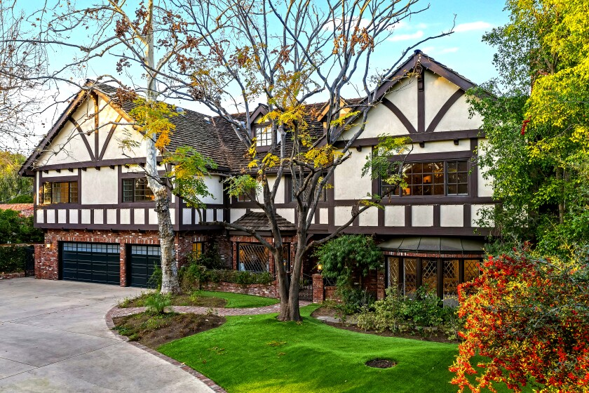 """""""Criminal Minds"""" star Joe Mantegna had an offer in hand for this Toluca Lake home about a week after it hit the market. Mantegna's Tudor-style manor, which features handsome character details and a massive great room, sold for $4 million."""