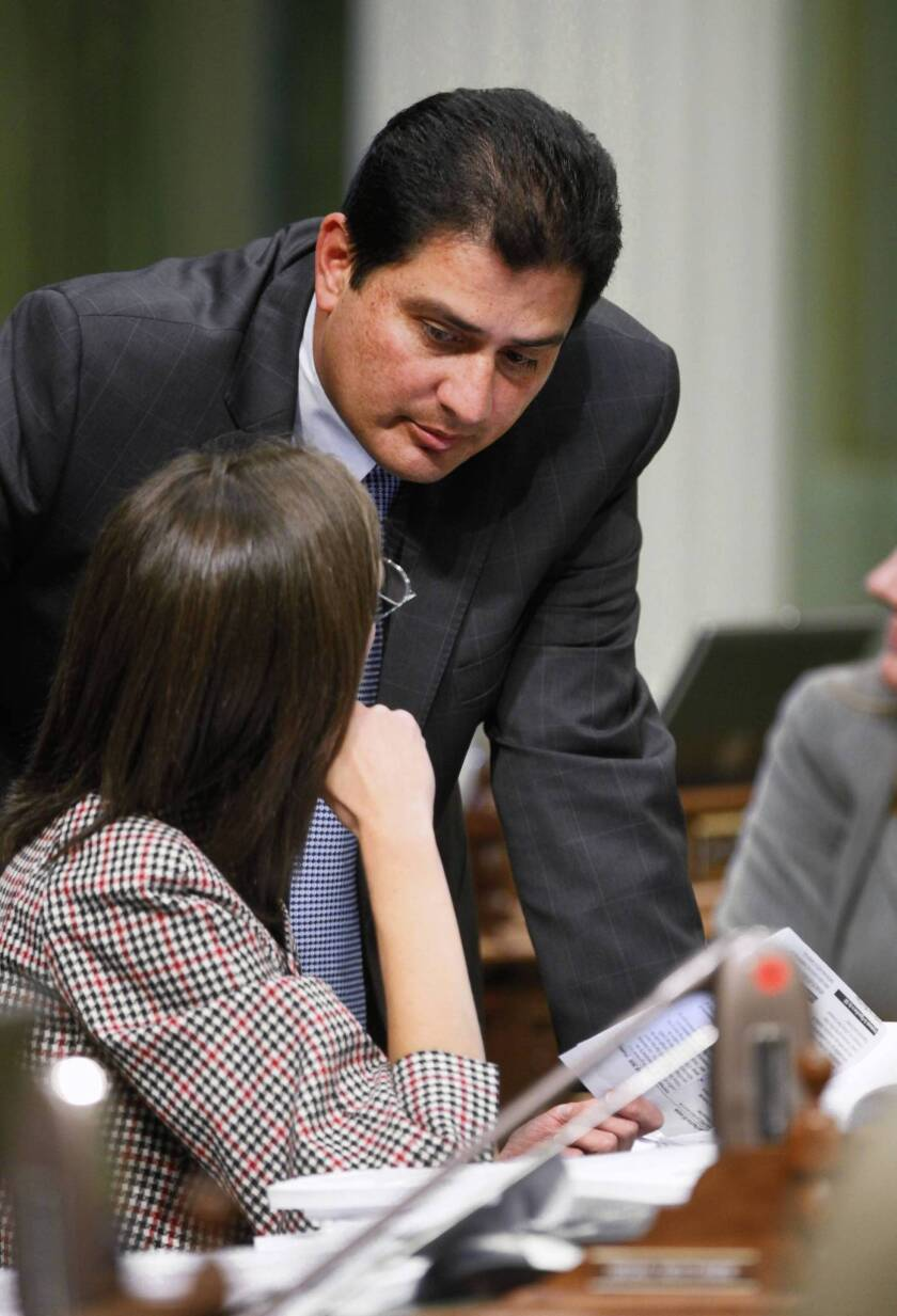 Assemblyman Ben Hueso (D-San Diego) co-introduced the bill, which would bar school districts from using capital appreciation bonds that take longer than 25 years to mature or cost more than $4 for every $1 borrowed.