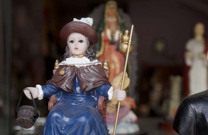 A figurine of Santo Nino De Atocha