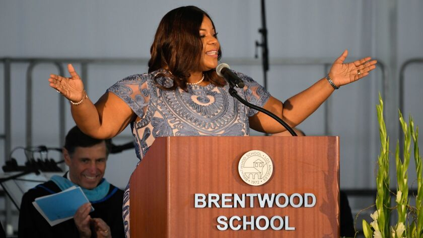 Brentwood School 45th Commencement Ceremony on June 1, 2019 in Los Angeles, California. Photo by Joh