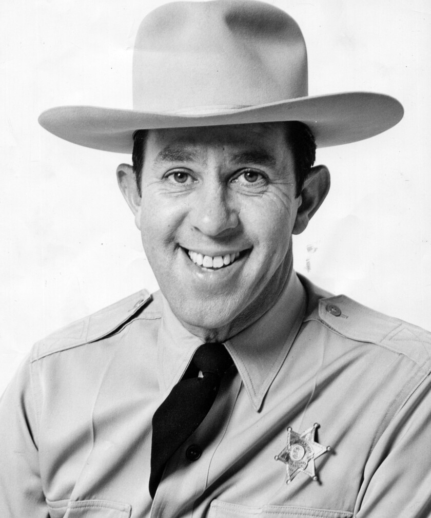 """Handout file photo of """"Sheriff John"""" Rovick. Photo from KTTV ñ Rothschild Photo. Photo received by"""