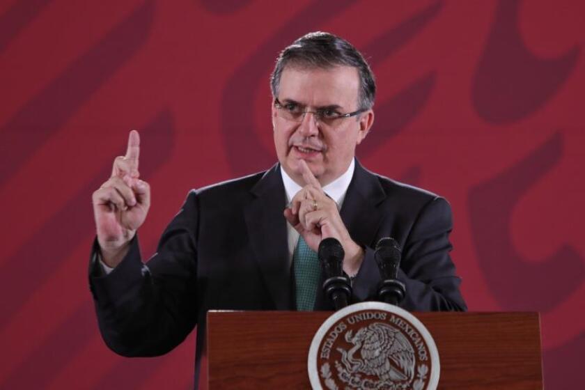 """México defiende descenso """"irreversible"""" en migración y EE.UU. pide hacer más"""