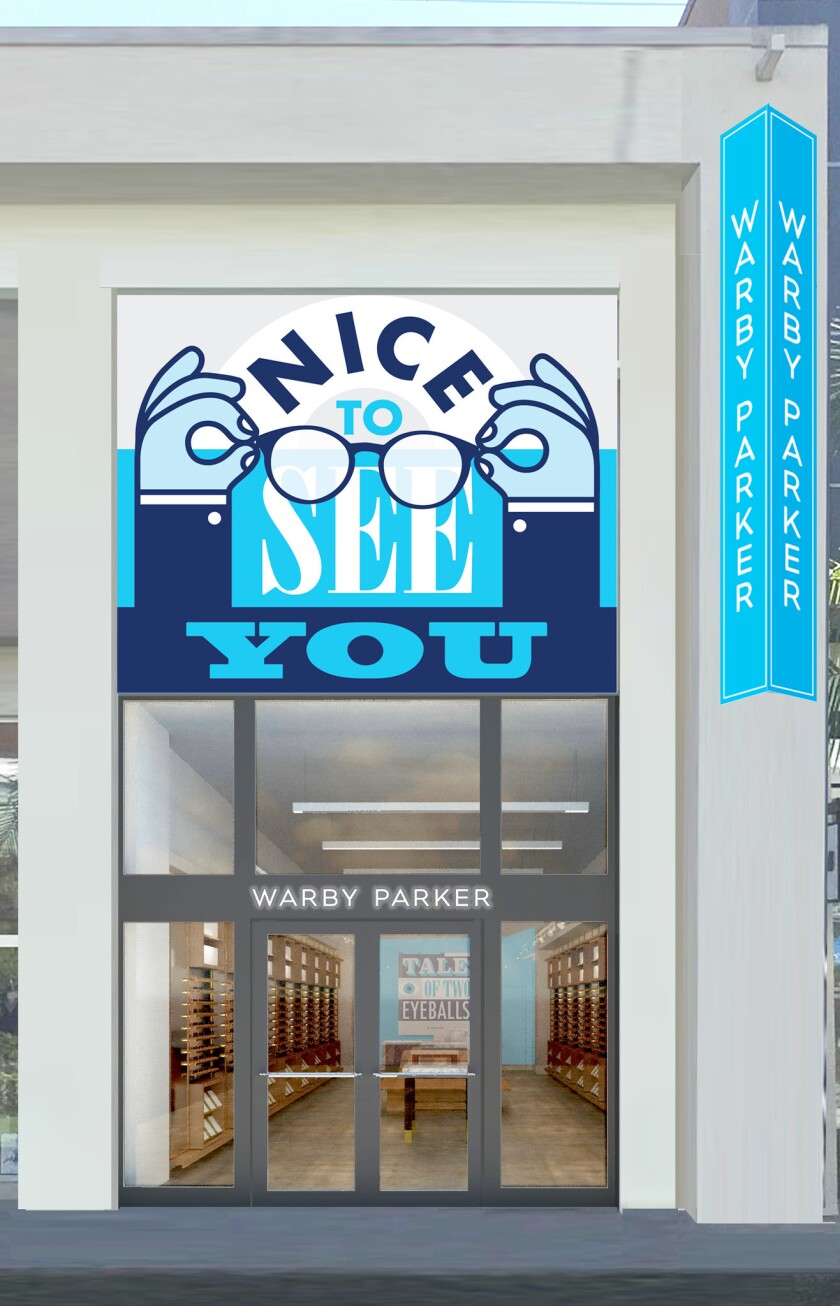 Accessibly-priced eyewear brand Warby Parker opened its newest store in The Point, El Segundo, in la