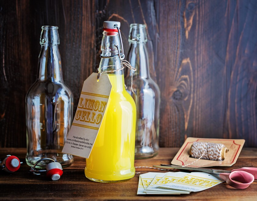 Homemade limoncello is refreshing and easy but takes a bit of patience for the perfect balance.
