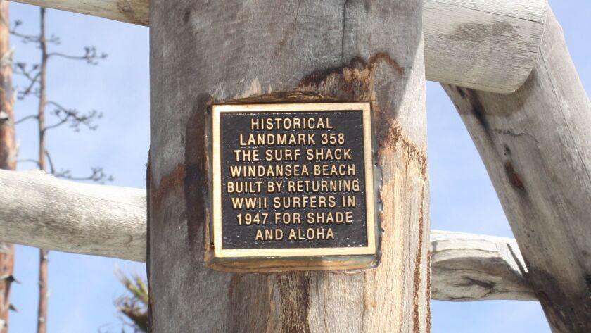 WindanSea Shack plaque