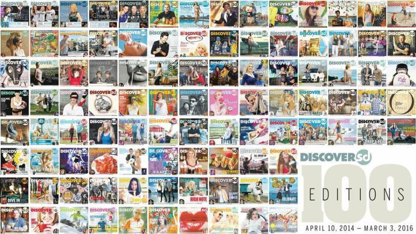 100 publications of DiscoverSD.