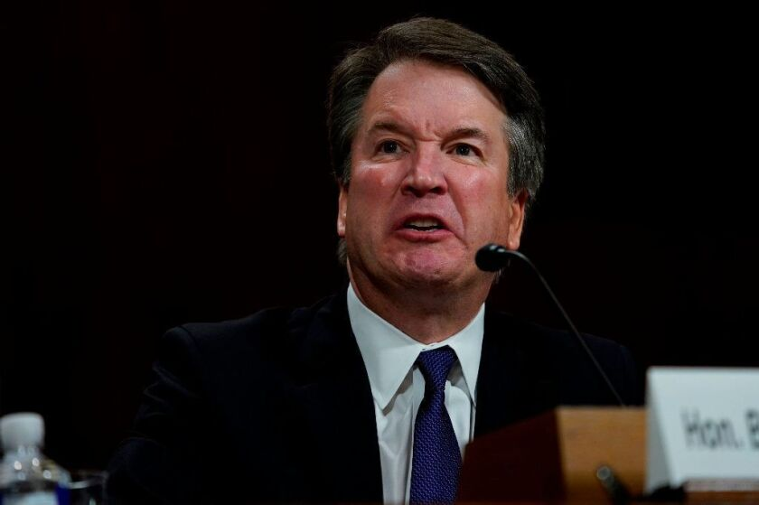 Supreme court nominee Brett Kavanaugh denies allegations of sexual misconduct that have delayed his confirmation.