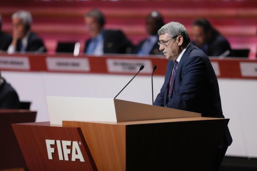 El presidente de la Federación de Fútbol de Kosovo (FFK), Fadil Vokrri. Fadil Vokrri