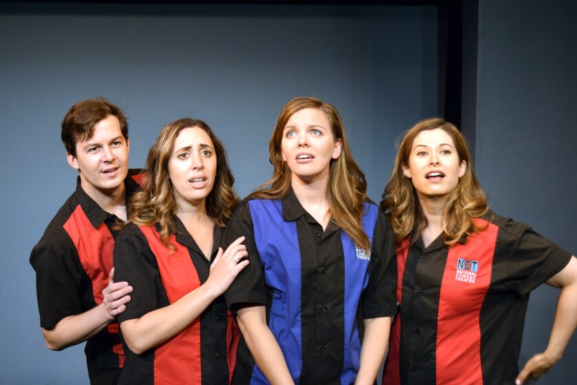 National Comedy Theatre cast members
