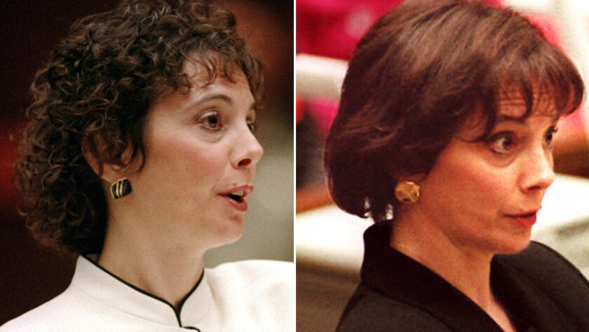 From The Archives A Good Hair Day Prosecutor Marcia Clark Sheds Curls For A New Look Los Angeles Times