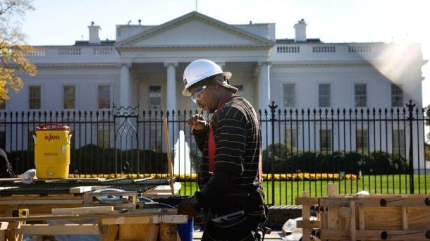 La Casa Blanca fue construida originalmente entre 1792 y 1800.